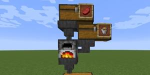 我的世界自动烤肉机教程 自动烤肉机怎么做