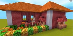 教你做一个红瓦房 迷你世界建筑教程