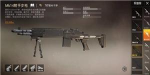 """和平精英MK14枪械解析 射手步枪的""""天花板"""""""