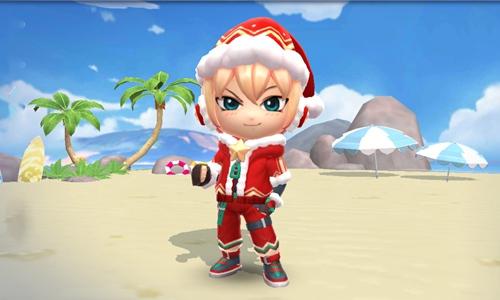 逃跑吧少年圣诞使者套装怎么得