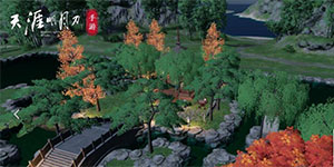 天涯明月刀手游家园二维码分享 微信区零氪枫叶家园数据