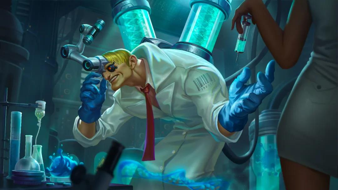 曙光英雄张角新皮肤生化博士 曙光英雄张角新皮肤生化博士展示