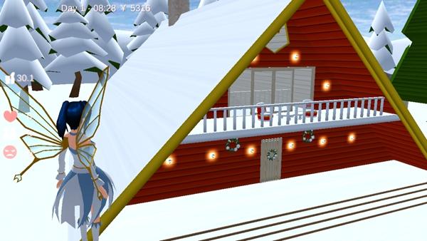 樱花校园模拟器雪屋