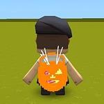 迷你世界微缩模型怎么做 南瓜小背包制作教程