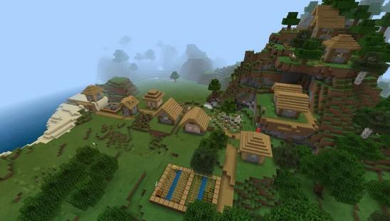 我的世界村庄种子