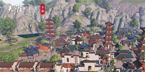 天涯明月刀手游家园二维码分享 Q区徽派萌城家园数据