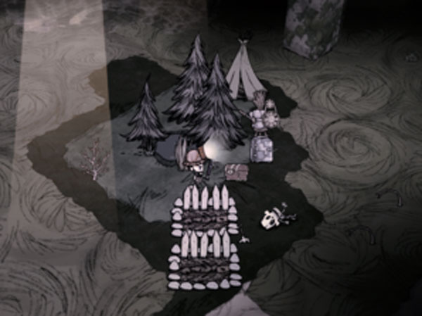 饥荒洞穴营地