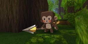 迷你世界新生存生物爆料 猴子豹子和野人祭祀