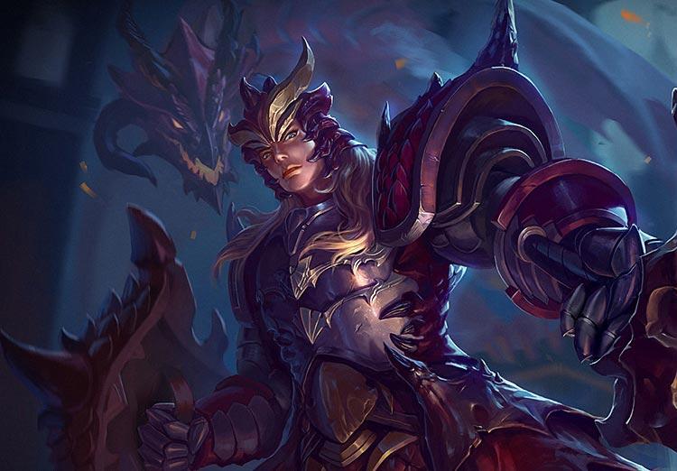 英魂之刃龙骑士三形态配合花样出装 英魂之刃龙骑士出装进阶攻略