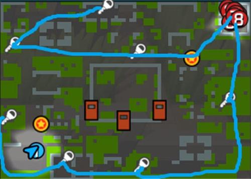 逃跑吧少年新地图丛林怎么玩