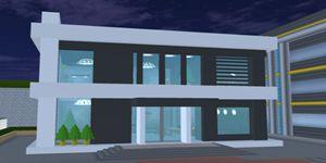 樱花校园模拟器现代别墅 房子建设展示