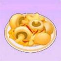 摩尔庄园毛毛菇炒蛋