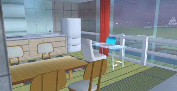 樱花校园模拟器扩建版公寓