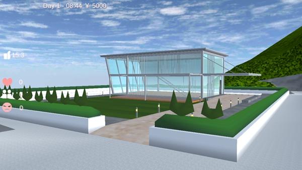 樱花校园模拟器海边别墅