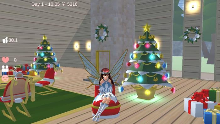 樱花校园模拟器圣诞节最新版下载