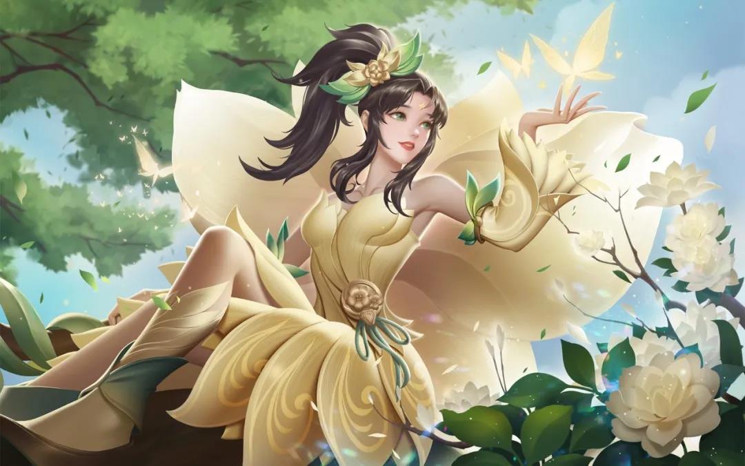 英魂之刃新皮肤绿野花仙馥郁茗香爆料