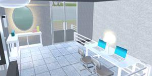 樱花校园模拟器新别墅 房子建设展示