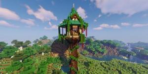 我的世界春日高塔建筑教程 快来装点你的家