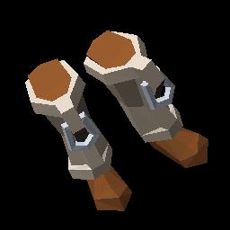 艾兰岛石制盔甲靴