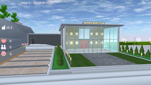 樱花校园模拟器live house位置