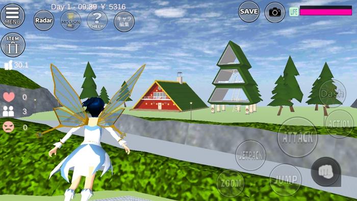 樱花校园模拟器圣诞屋位置介绍