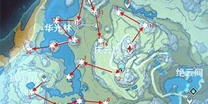 原神陨星碎屑坐标分布 陨星碎屑收集路线推荐