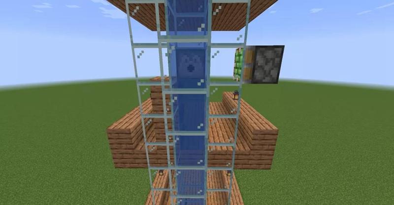 我的世界电梯选层工具2