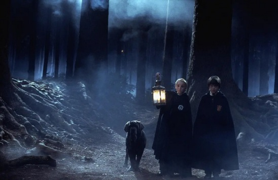 《哈利·波特与魔法石》电影画面