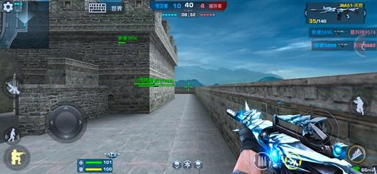 正义枪战古城墙