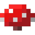 我的世界手游红色蘑菇