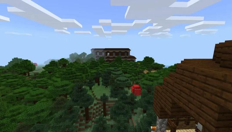 我的世界林地府邸