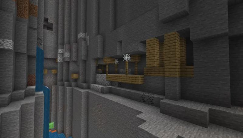 我的世界峡谷废弃矿坑