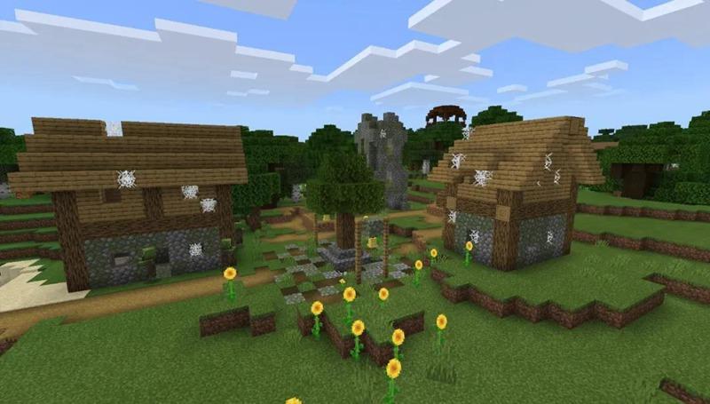 我的世界僵尸村庄