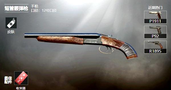 和平精英短管霰弹枪手枪