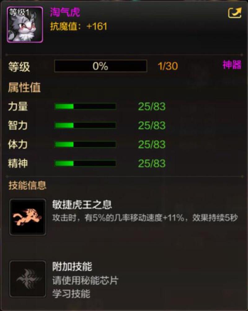 DNF手游淘气虎