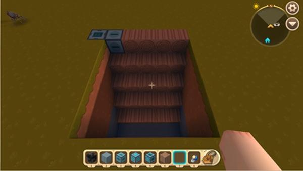 迷你世界两用滑动梯5