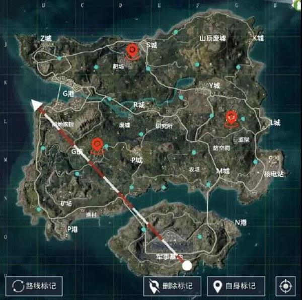和平精英地图