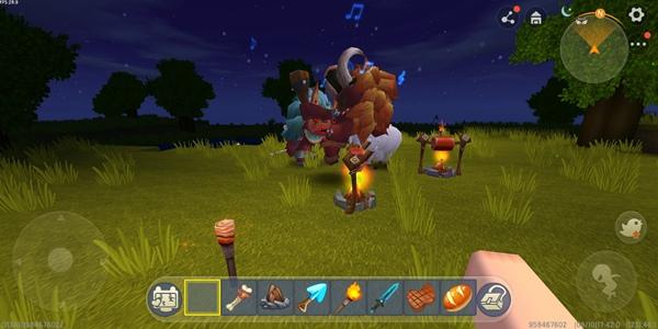 迷你世界野人驯服方法3