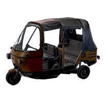 和平精英雨林三轮车介绍 雨林三轮车属性解析