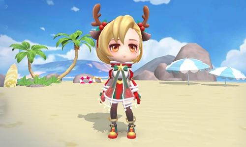 逃跑吧少年圣诞小鹿套装怎么得
