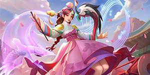 英魂之刃潘多拉新皮肤爆料:阵鼓以歌展翅而舞一如战场上盛开的花朵!