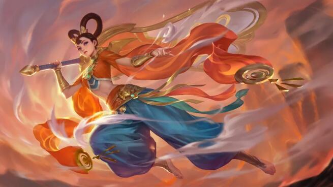 英魂之刃铁扇公主最新爆料 英魂之刃铁扇公主皮肤技能曝光
