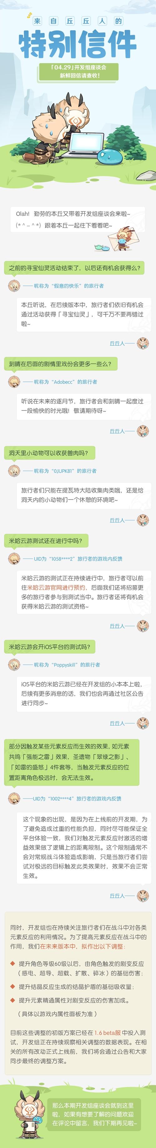 原神04.29开发组座谈会