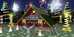 樱花校园模拟器圣诞节更新 天使精灵圣诞屋等新内容登场!