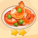 摩尔庄园石榴炸虾